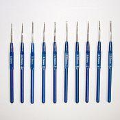 Материалы для творчества ручной работы. Ярмарка Мастеров - ручная работа Крючок для вязания 0,6 мм - 1,6 мм. Handmade.