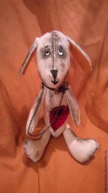 Куклы Тильды ручной работы. Ярмарка Мастеров - ручная работа. Купить Пес Тимка. Handmade. Подарок девушке, стильный подарок