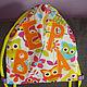 Детские аксессуары ручной работы. Ярмарка Мастеров - ручная работа. Купить рюкзачки для детского сада. Handmade. Оранжевый, рюкзак