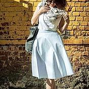 Одежда ручной работы. Ярмарка Мастеров - ручная работа Юбка полусолнце с карманами SLS008. Handmade.