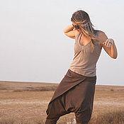 """Одежда ручной работы. Ярмарка Мастеров - ручная работа Штанишки """"Закат в пустыне"""". Handmade."""