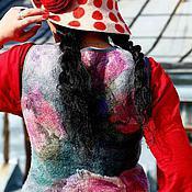 Одежда ручной работы. Ярмарка Мастеров - ручная работа Жилет Арт-Терапия. Handmade.