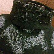 Одежда ручной работы. Ярмарка Мастеров - ручная работа валяный свитер. Handmade.
