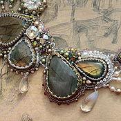 "Украшения handmade. Livemaster - original item jewelry set ""The Lily of the Valley"" - necklace, bracelet, earrings. Handmade."
