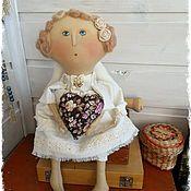 Куклы и игрушки ручной работы. Ярмарка Мастеров - ручная работа Задумчивый ангелок. Handmade.