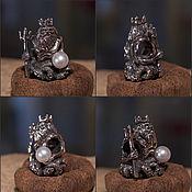 Материалы для творчества handmade. Livemaster - original item Poseidon charm. Handmade.
