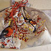 Дед Мороз и Снегурочка ручной работы. Ярмарка Мастеров - ручная работа Мешочек  54 см от  Деда Мороза. Handmade.