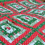 """Для дома и интерьера ручной работы. Ярмарка Мастеров - ручная работа Лоскутное одеяло""""Травы луговые"""", 125х150см. Handmade."""