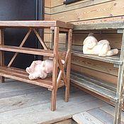 """Для дома и интерьера ручной работы. Ярмарка Мастеров - ручная работа Консоль """" В деревенском стиле"""". Handmade."""