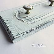 Вешалки и крючки ручной работы. Ярмарка Мастеров - ручная работа Вешалка деревянная. Handmade.