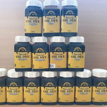 Материалы для творчества ручной работы. Ярмарка Мастеров - ручная работа Fiebing`s Professional Oil Dye - профессиональная краска для кожи. Handmade.