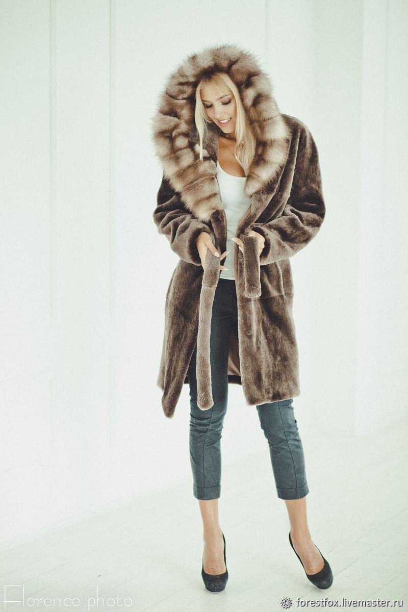 Beaver fur coat, Fur Coats, Moscow,  Фото №1
