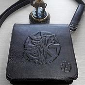 Men\`s bag handmade. Livemaster - original item Mens leather bag. Handmade.