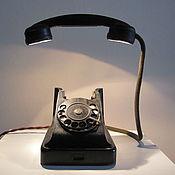 Для дома и интерьера handmade. Livemaster - original item Phone as a lamp. Handmade.