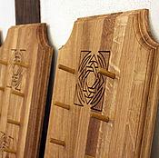 Сувениры и подарки handmade. Livemaster - original item Suspension for knives made of oak (or ash). Handmade.