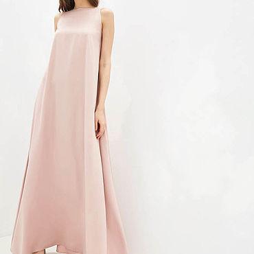 Одежда ручной работы. Ярмарка Мастеров - ручная работа Широкое платье вечернее 1128В. Handmade.