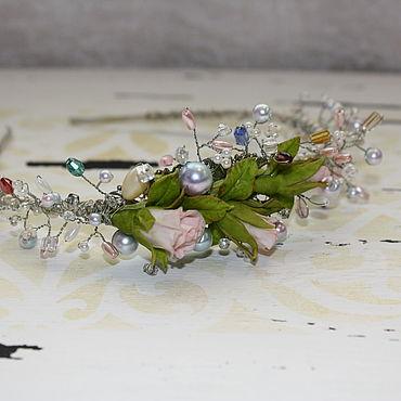 Свадебный салон ручной работы. Ярмарка Мастеров - ручная работа Аксессуары ободок. Handmade.