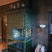 Для дома и интерьера handmade. Livemaster - original item Tiled stove