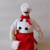 Куклы и игрушки ручной работы. Ярмарка Мастеров - ручная работа Тильда повар. Handmade.