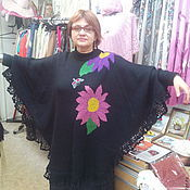 Одежда handmade. Livemaster - original item Poncho. Handmade.