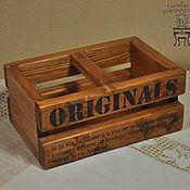 Для дома и интерьера ручной работы. Ярмарка Мастеров - ручная работа Ящик для масла Originals. Handmade.