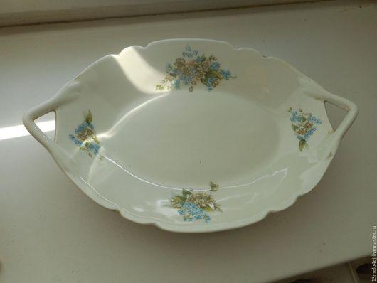 Винтажная посуда. Ярмарка Мастеров - ручная работа. Купить Блюдо старинное. Handmade. Блюдо