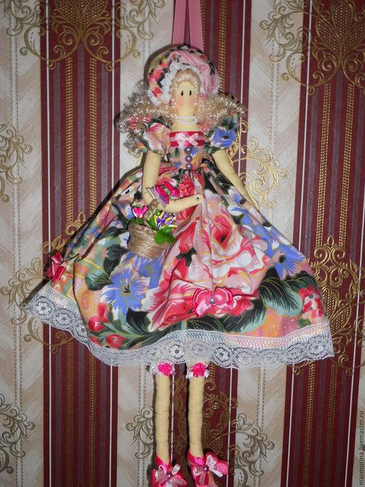 """Куклы Тильды ручной работы. Ярмарка Мастеров - ручная работа. Купить Тильда """"Розалия"""". Handmade. Фуксия, волосы для кукол"""