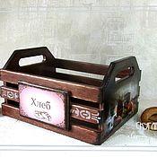Для дома и интерьера handmade. Livemaster - original item A bread box, Box bread