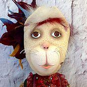 """Куклы и игрушки ручной работы. Ярмарка Мастеров - ручная работа Кошка """"Весенняя Домашняя МартКиса"""". Handmade."""
