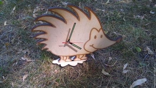 Развивающие игрушки ручной работы. Ярмарка Мастеров - ручная работа. Купить Часы детские настольные. Handmade. Бежевый, часы интерьерные
