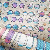 """Бумага ручной работы. Ярмарка Мастеров - ручная работа Крафт-бумага """"Солнечные очки"""". Handmade."""