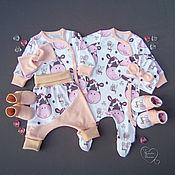 Одежда детская handmade. Livemaster - original item Sets of clothes for the baby.. Handmade.
