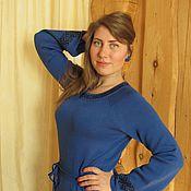 Одежда ручной работы. Ярмарка Мастеров - ручная работа платье вязаное Мария 2. Handmade.