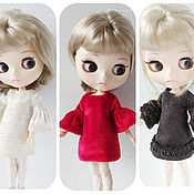 Куклы и игрушки handmade. Livemaster - original item Dress for Blythe.. Handmade.