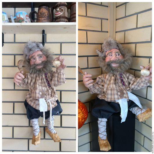 Сказочные персонажи ручной работы. Ярмарка Мастеров - ручная работа. Купить Домовой_хранитель.( куклы-пакетницы ). Handmade. Комбинированный