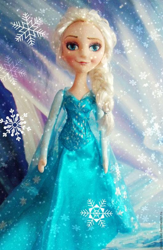 кукла Эльза текстильная из Холодное сердце
