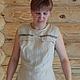 """Платья ручной работы. платье""""Русские мотивы. Оксана Багликова. Интернет-магазин Ярмарка Мастеров. Фото №2"""