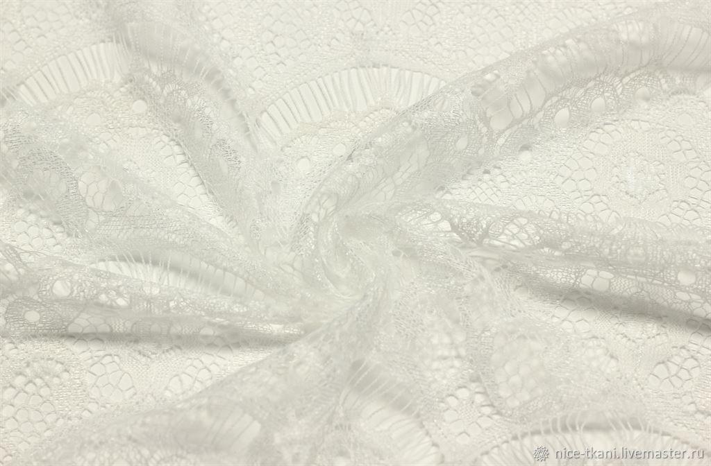 173601 ткань нежный белый гипюр, Ткани, Ростов-на-Дону,  Фото №1