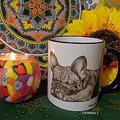 Посуда handmade. Livemaster - original item Author mug