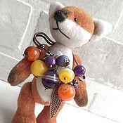 Украшения handmade. Livemaster - original item safety pin brooch. The berry compote. Handmade.