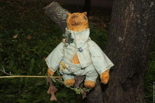 Мишки Тедди ручной работы. Ярмарка Мастеров - ручная работа. Купить Мишка Рукастый Мужичок. Handmade. Рыжая осень