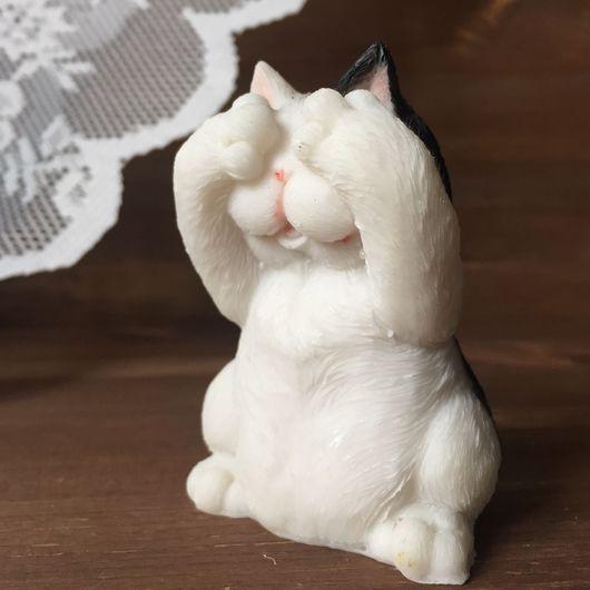 Статуэтки ручной работы. Ярмарка Мастеров - ручная работа. Купить Статуэтка котик. Handmade. Кот, котики, фигура, сувениры, статуэтка