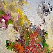 """Картины и панно ручной работы. Ярмарка Мастеров - ручная работа Абстрактная картина в спальню """"Осенние мечты"""". Handmade."""