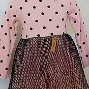 Платья ручной работы. Ярмарка Мастеров - ручная работа Розовое платье. Handmade.