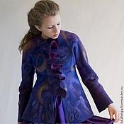 Одежда ручной работы. Ярмарка Мастеров - ручная работа жакет  СИРЕНЬ. Handmade.
