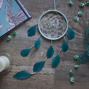 Для дома и интерьера ручной работы. Ярмарка Мастеров - ручная работа Ловец снов - Индиго. Handmade.
