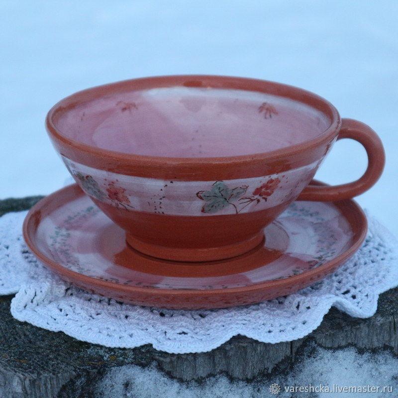 Чайная пара Морошка, Чайные пары, Соловки,  Фото №1