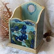 Для дома и интерьера handmade. Livemaster - original item Box for storage with drawer