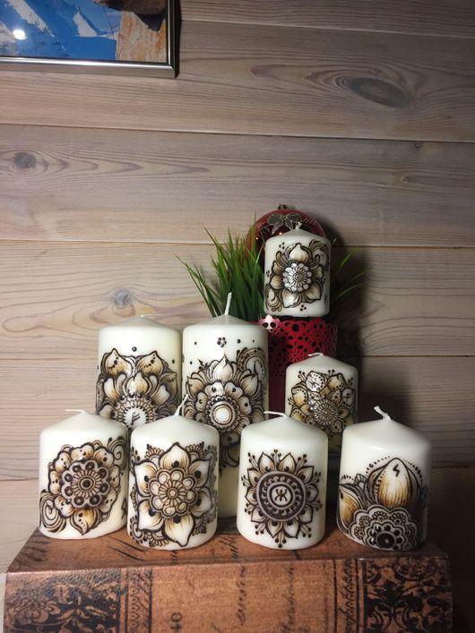 Свечи ручной работы. Ярмарка Мастеров - ручная работа. Купить Свеча оберег. Handmade. Свечи ручной работы, свечи декорированные