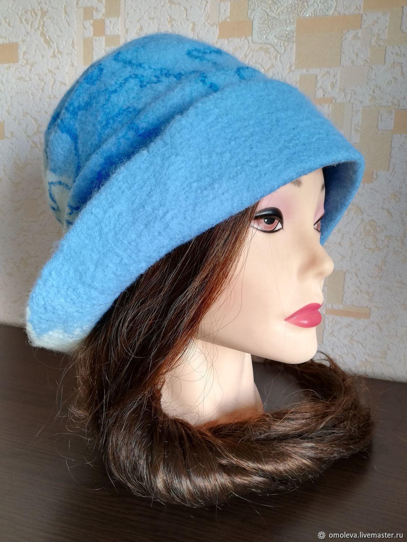 Hat felted 'Whirlpool', Hats1, Minsk,  Фото №1